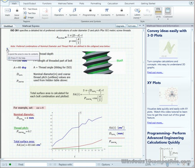 Ptc Mathcad Express 30 Free Download